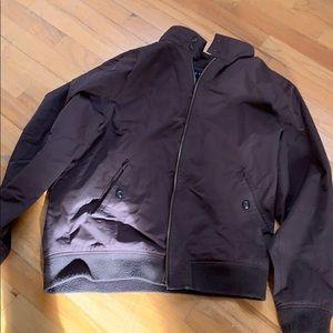 Five Four Brown light Jacket - size large NWOT